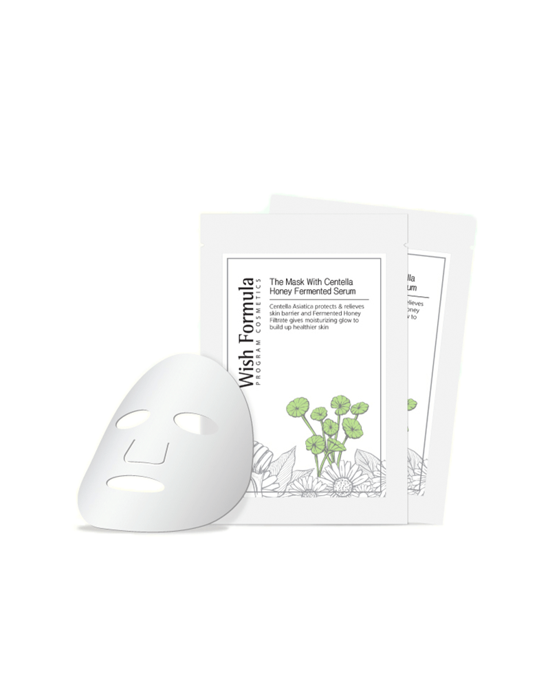 Wish formula Centella honey sheet mask