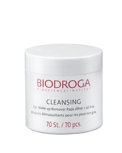 Biodroga Eye Make up Remover Pads - oljefria
