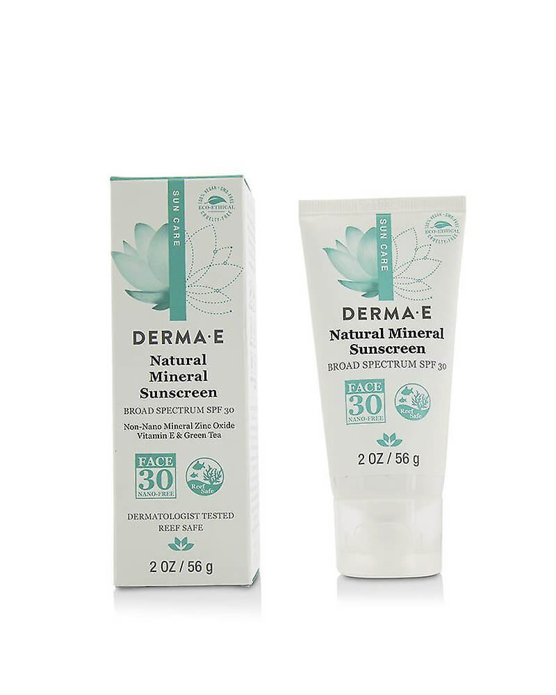 DERMA E Natural Mineral Sunscreen SPF 30 Face