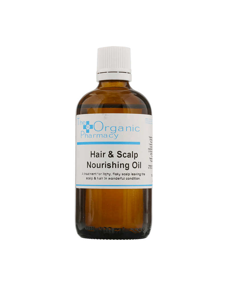 The Organic Pharmacy Organic Hair & Scalp Nourishing Oil