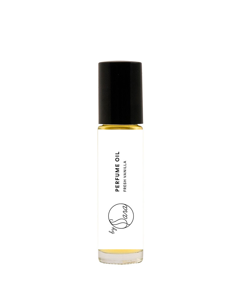 Organics by Sara Perfume oil fresh vanilla