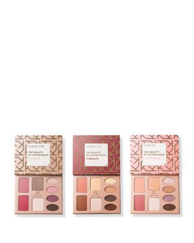 Katherine Cosmetics Giving Back Makeup Palettes