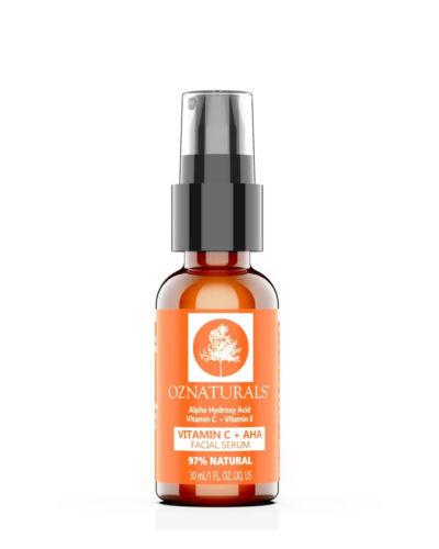 OZNaturals Vitamin C AHA Facial Serum