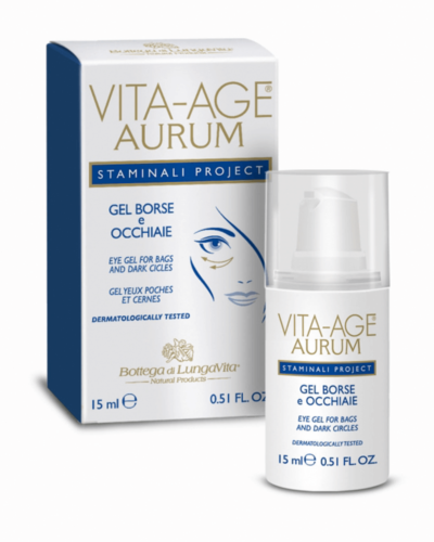 Bottega di Lungavita Vita-Age Aurum Eye-gel bags and dark circle