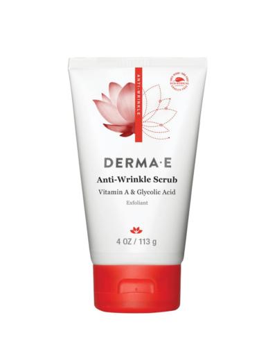 DermaE Anti-Wrinkle  Scrub, ansiktspeeling, exfoliering ansikte