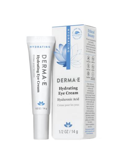 DermaE_Hydrating_Eye_Cream, ögonkräm, ögonkräm rynkor, ögonkräm anti age