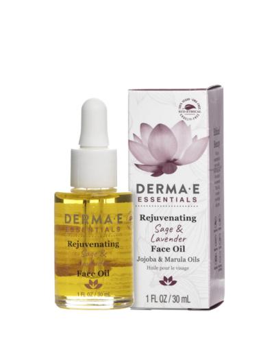 DermaE Rejuvenating Sage & Lavender Face Oil, ansiktsolja