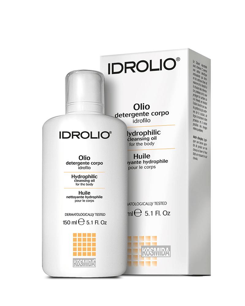 Idrolio body cleansing oil