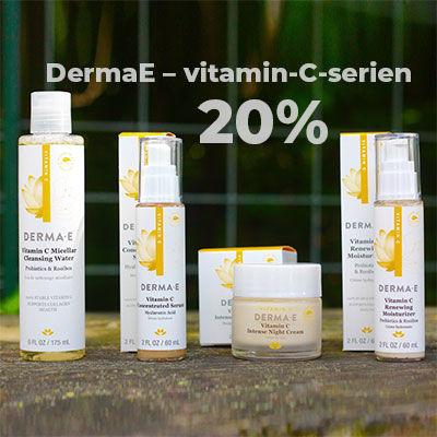 DermaE vitamin c kampanj