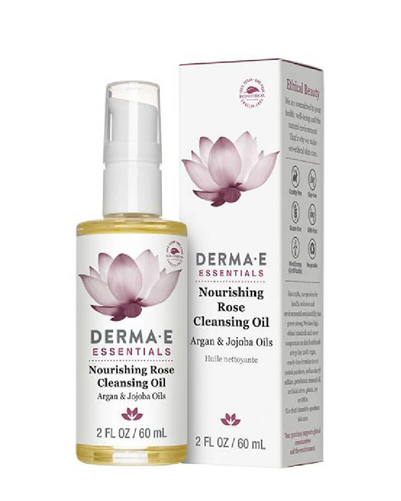 DermaE_Nourishing_Rose_Cleansing_Oil_Vitamin_E_Jojoba_argan