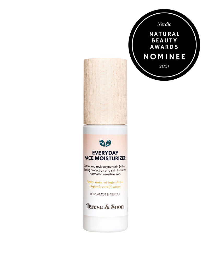 Terese & Soon face moisturizer Nordiv Natural Beauty Awards