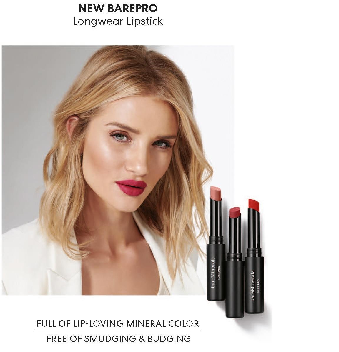 bareMinerals Longwear Lipstick_pure_habit