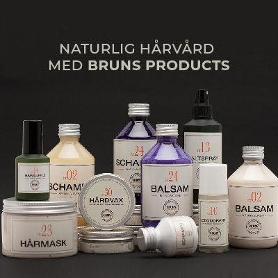 Bruns Products natulig hårvård