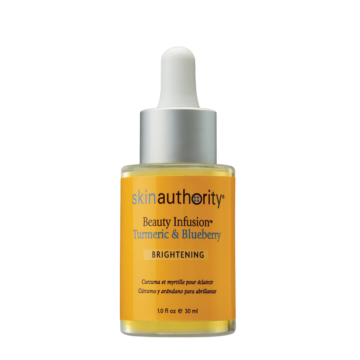 Skin Authority Beauty Infusion Turmeric & Blueberry for Brightening serum