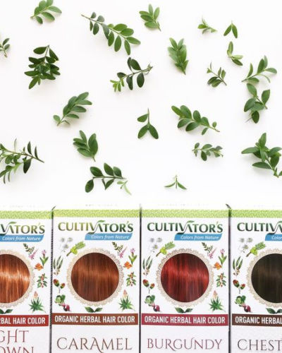 Cultivators ekologiska hårfärger