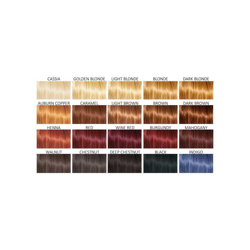 Cultivator's ekologiska hårfäeg - färgkarta