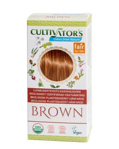 Cultivator's ekologisk hårfärg - brown