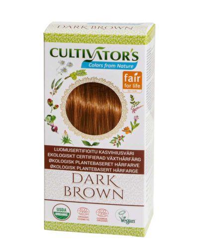 Cultivator's ekologisk hårfärg - dark brown
