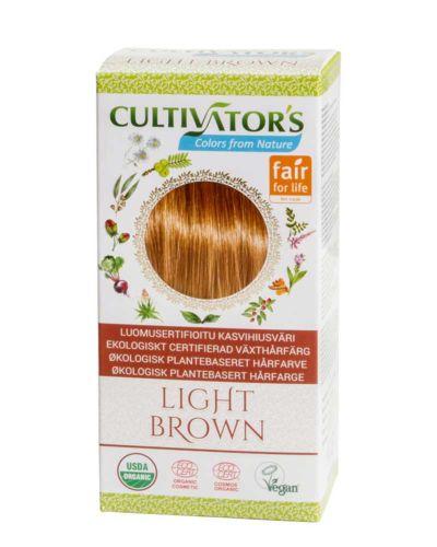 Cultivator's ekologisk hårfärg - light brown