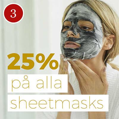 Sheet masks kampanj